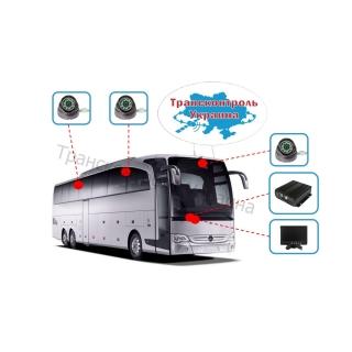 Комплекты видеонаблюдения на автобус