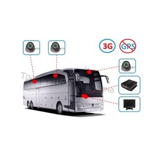 Комплект видеонаблюдения на автобус (Online - 3G)