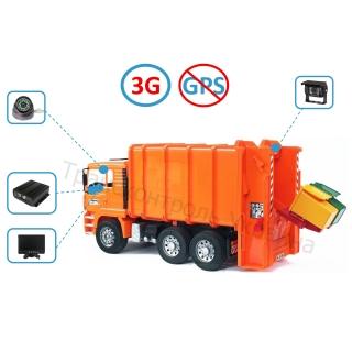 Комплект відеоспостереження на сміттєвоз (Online - 3G)