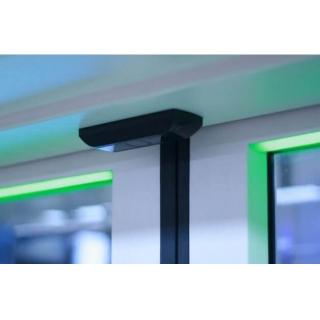 Вид установленного датчика IRMA Matrix в салоне пассажирского транспортного средства