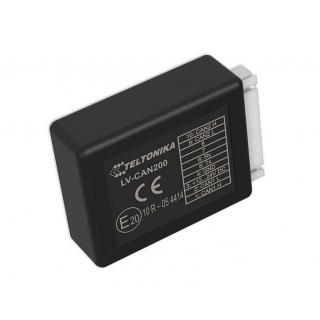 Teltonika CAN-LOG LV-CAN200 пердоставляет доступ к основным параметрам: пробег, уровень топлива и так далее