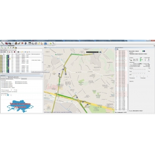 "Отображение треков в программно-аппаратном комплексе GPS/ГЛОНАСС мониторинга транспорта ""Навигатор"""
