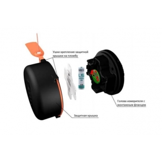 Конструкция беспроводного датчика угла с автономным питанием DU-BLE