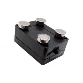 Крепление GPS терминала CARGO SPY на металлические поверхности с помощью неодимовых магнитов