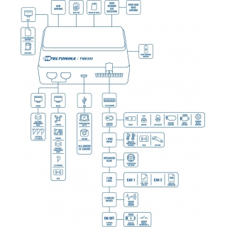 GPS Терминал Teltonika FM3600 (3G)