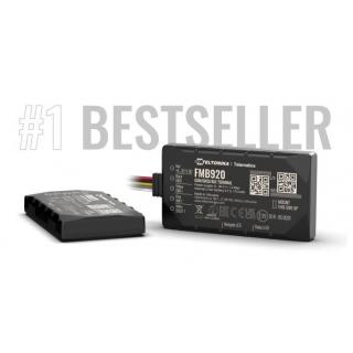 GPS Терминал Teltonika FMB920 - бестселлер, продано более 1 млн. единиц
