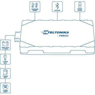 Teltonika FMB920 схема