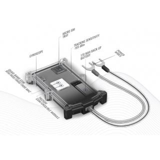 Внутренее устройство GPS терминала Teltonika FMT100