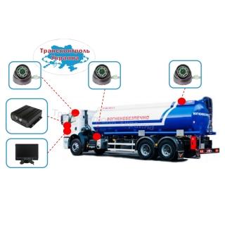 Комплекты видеонаблюдения на бензовоз