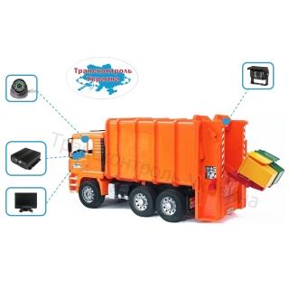 Комплекты видеонаблюдения на мусоровоз