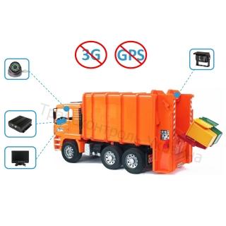 Комплект відеоспостереження на сміттєвоз (Offline)